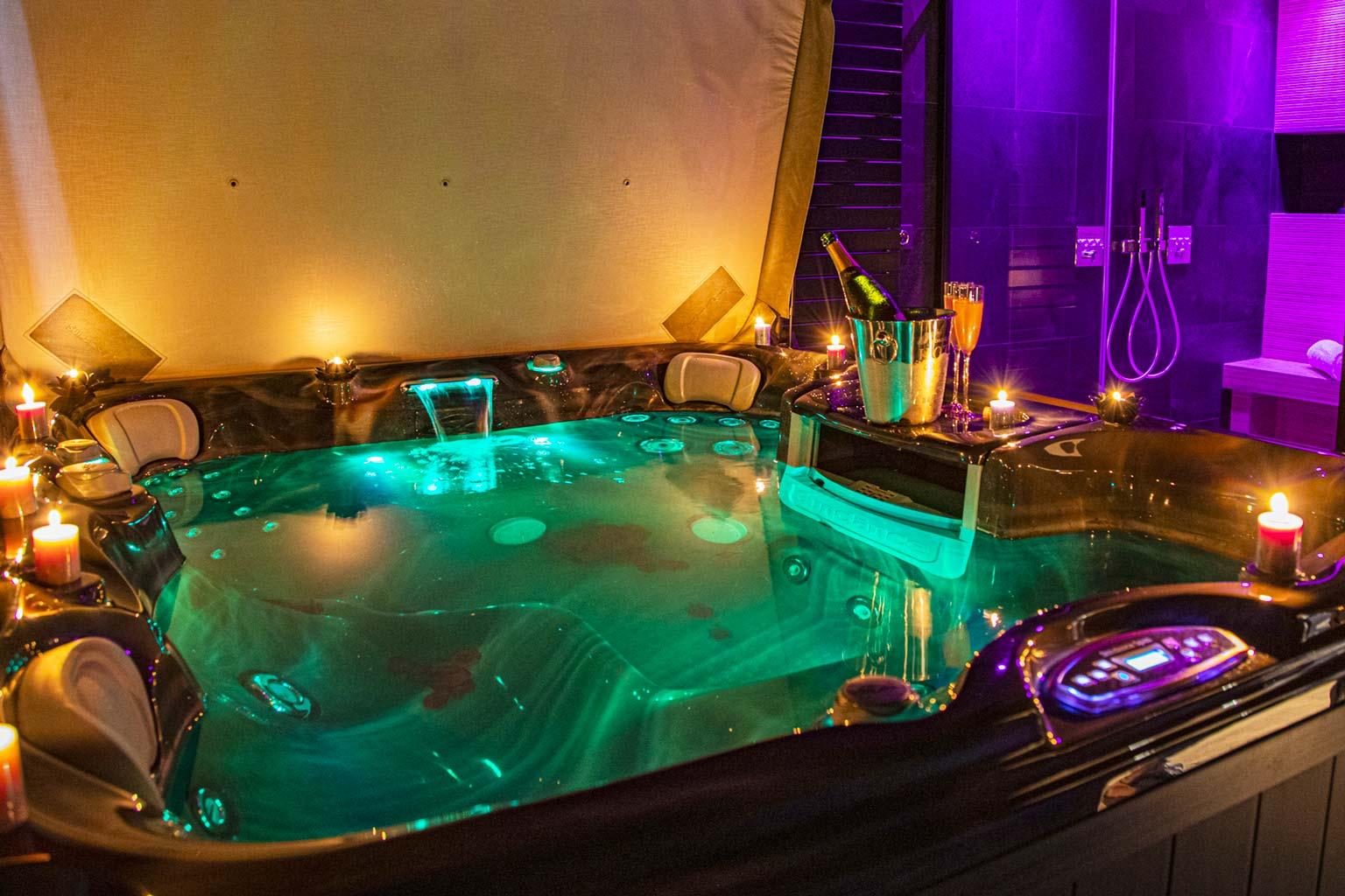 spa privé nantes soirée romantique